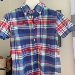 Ralph Lauren toddler 4 short sleeve button down